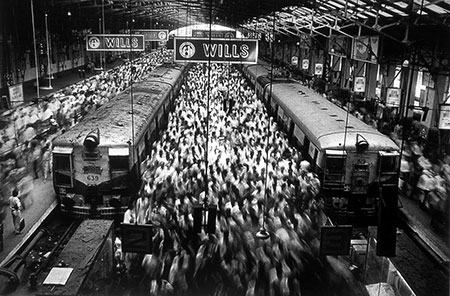 Salgado - Churchgate Station de Bombay, India, 1995