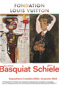 Basquiat et Schiele à la Fondation Vuitton